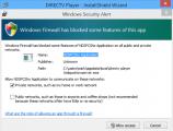 Followup DirecTV Player Install Firewall Notice