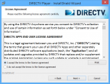 Followup DirecTV Player Install License