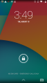 Android 4.4.4 Lock Screen