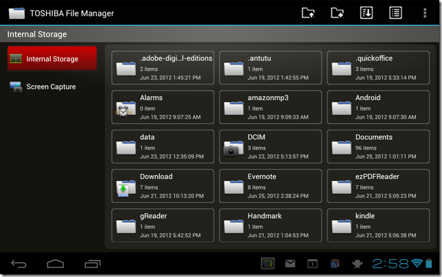 Toshiba File Manager