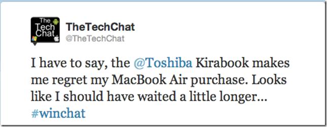 KIRAbook Tweet