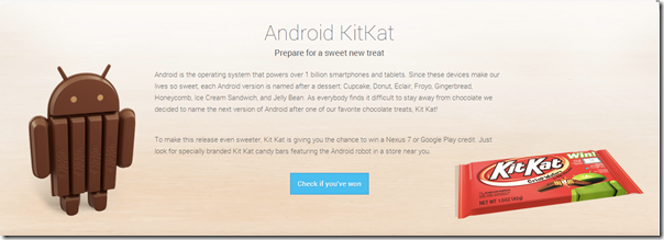 Android KitKat Announce