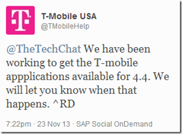 T-Mobile Twitter Visual Voicemail