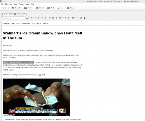 Article clipped via the Evernote Web Clipper in Simplified Article mode. Notice how clean the clipping is, and how the text can be copied and formatted.