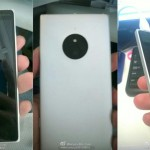 Leaked images of rumored Lumia 830 smartphone.