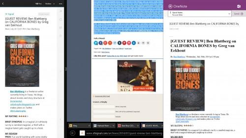 RSS Reader Windows 8.1 Workflow