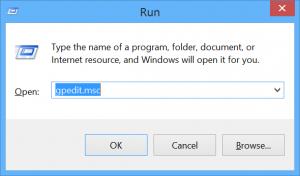 Run Group Editor